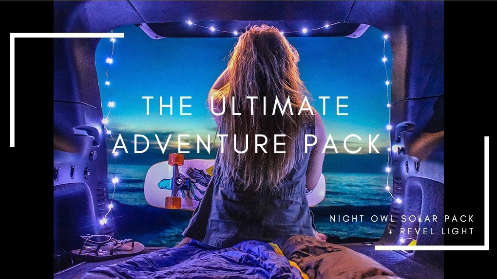 the ultimate adventure pack photo by revel gear camping on the beach with new camping tech